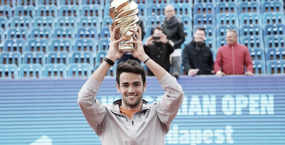 Berrettini vence Krajinovic de virada e conquista o título do ATP 250 de Budapeste