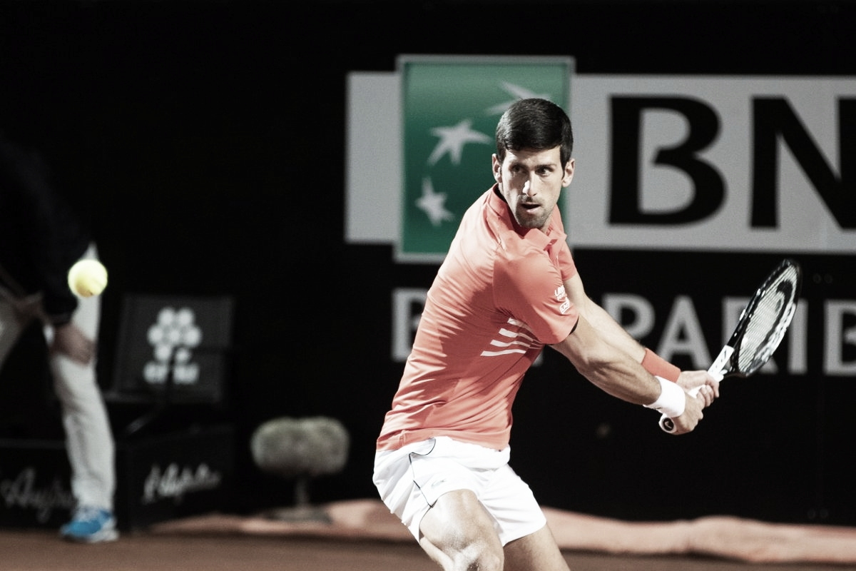 Em um dos melhores jogos do ano até aqui, Djokovic bate Del Potro e avança no Masters 1000 de Roma