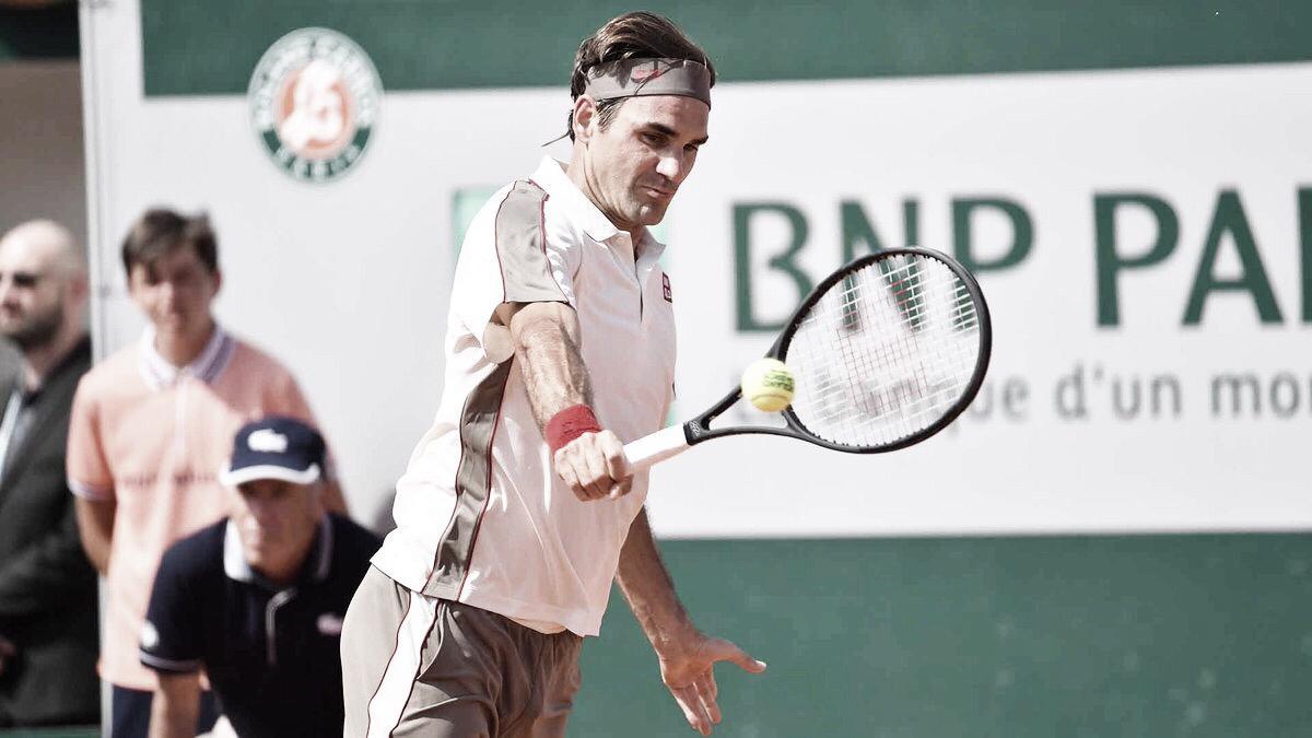 Com mais uma boa atuação, Federer vence Mayer e vai às quartas em Roland Garros