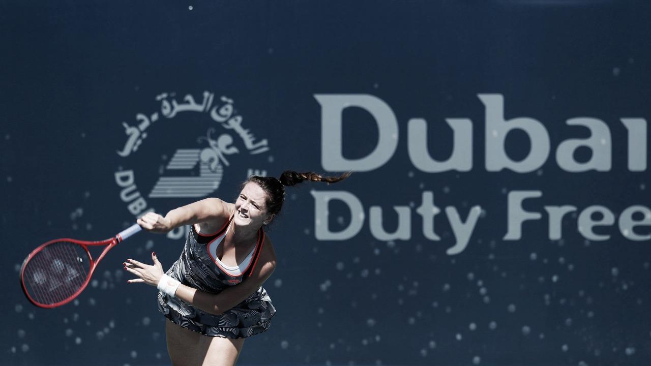 Kuzmova faz mais uma grande partida e elimina Kenin no duelo de promessas em Dubai