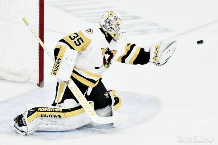 Los Penguins quieren que Tristan Jarry sea el nuevo reemplazo de Matt Murray