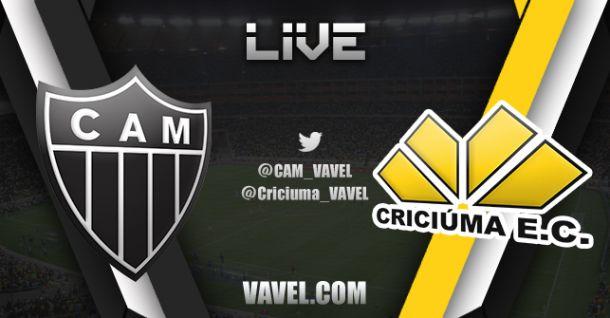 Campeonato Brasileiro: Atlético MG x Criciúma