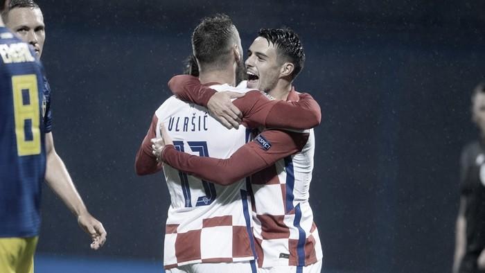 Croácia derrota Suécia e garante primeira vitória na Nations League