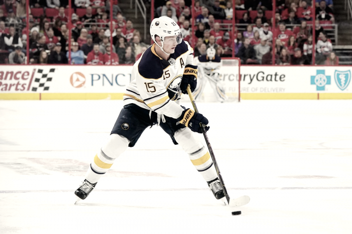 Buffalo Sabres: Jack Eichel out 4-6 weeks