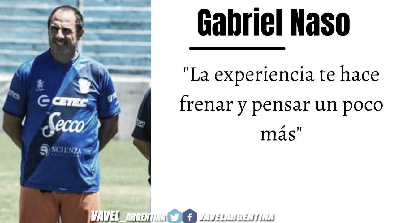 Gabriel Naso: ''La adrenalina de ganar un clásico no se pierde nunca''