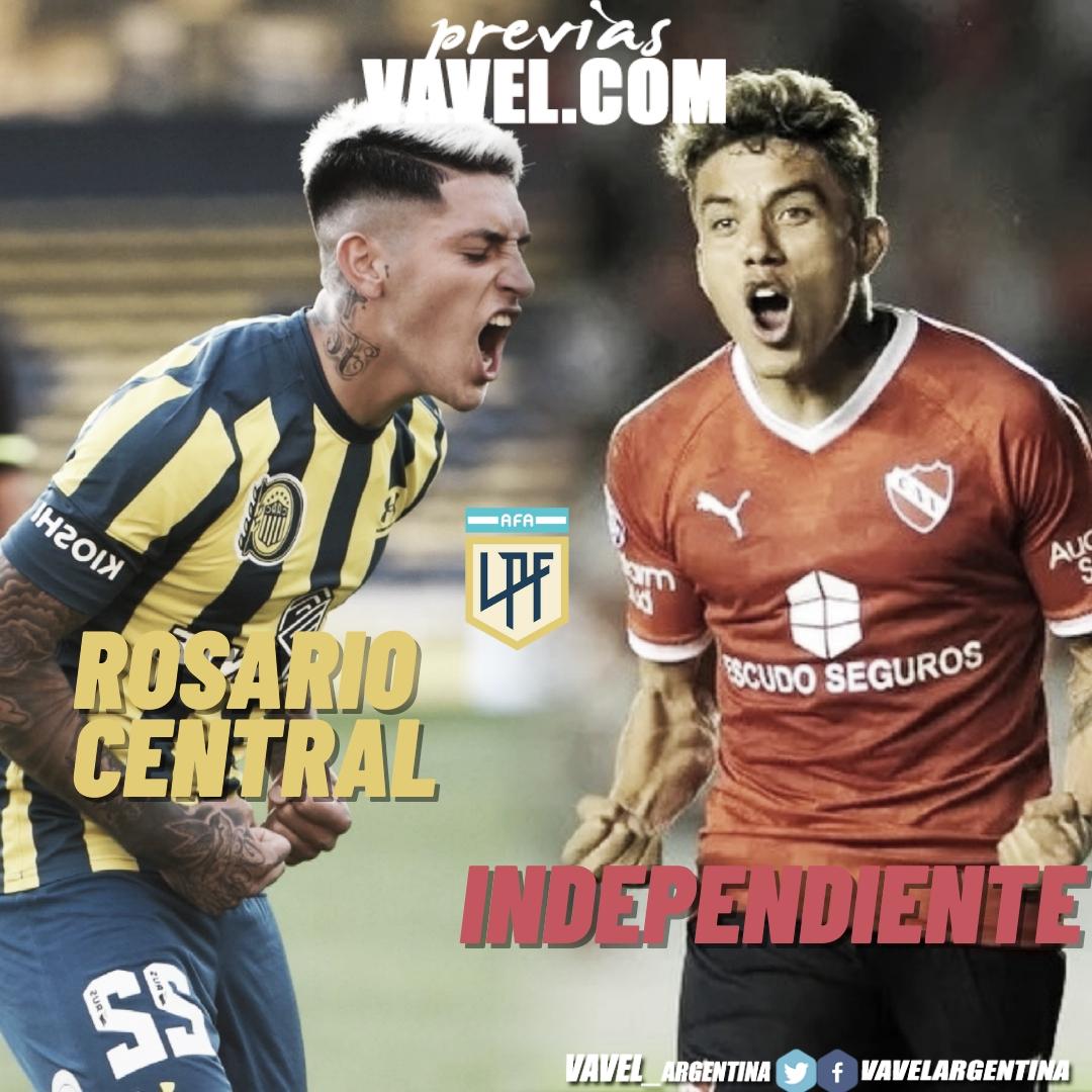Independiente obligado a ganar para seguir puntero visita a Rosario Central