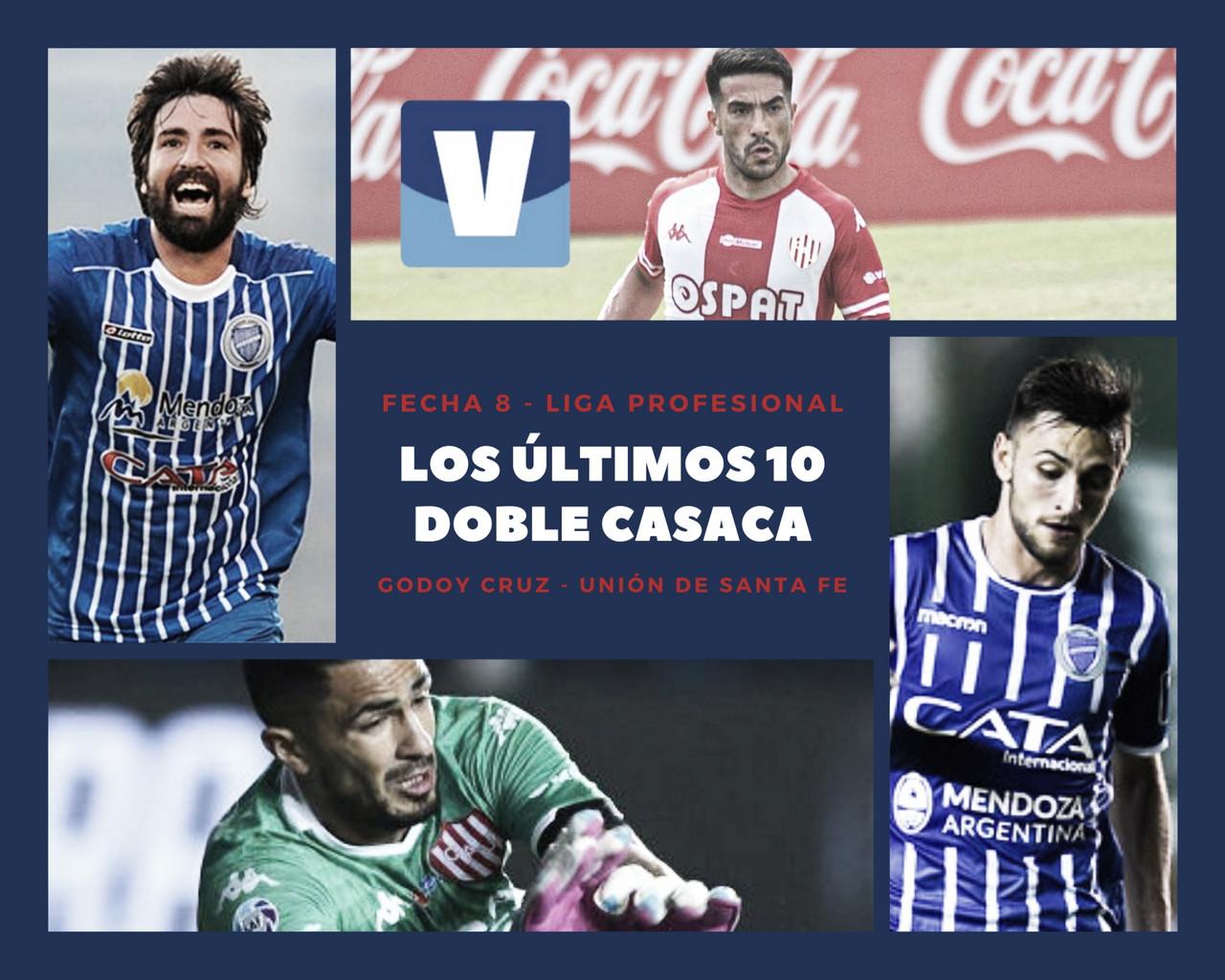 Los doble casaca: Godoy Cruz - Unión