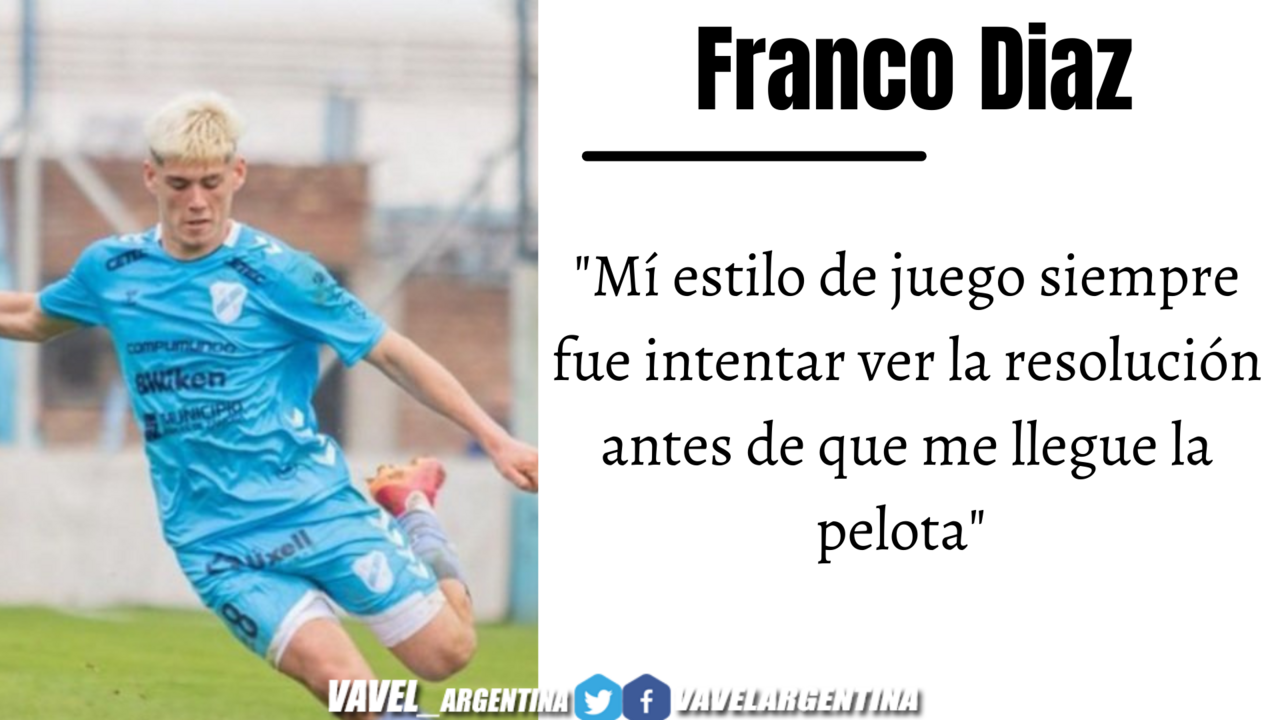 Franco Díaz: ''Siempre hice las cosas bien para cuando me llegue el momento''