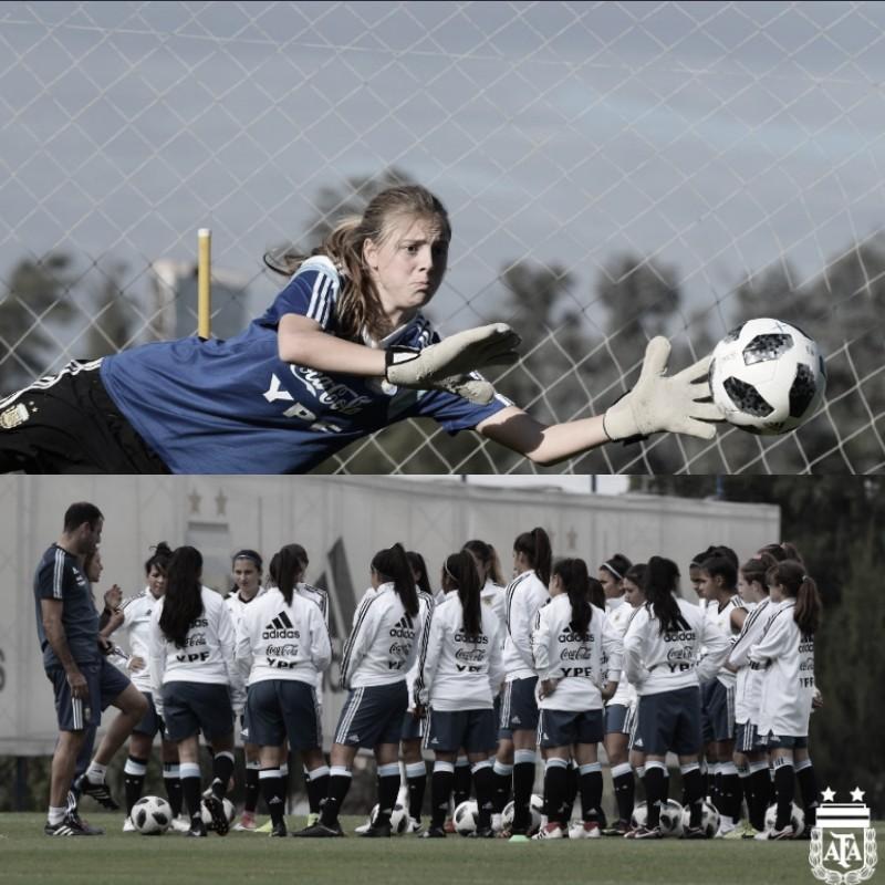 Iniciaron los entrenamientos las categorías juveniles femeninas