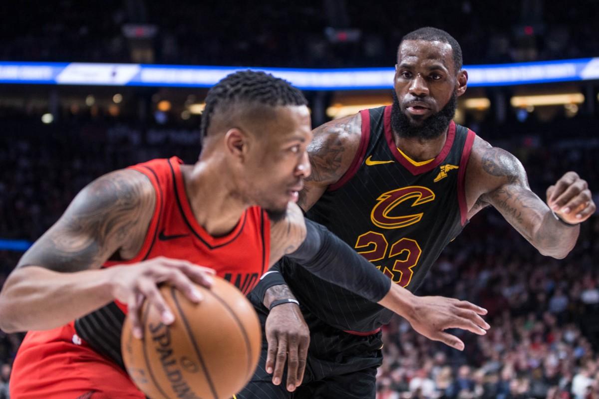NBA - Portland arriva a 11 di fila, si arrendono i Cavs; segnali di vita degli Spurs