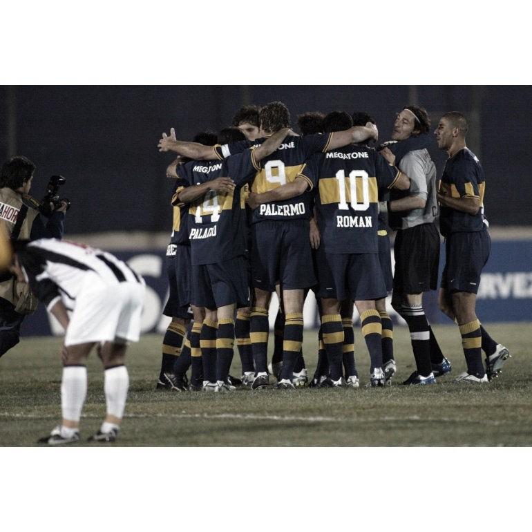 Efeméride: Boca derrotaba a Libertad en Paraguay y pasaba a semifinales de Copa Libertadores