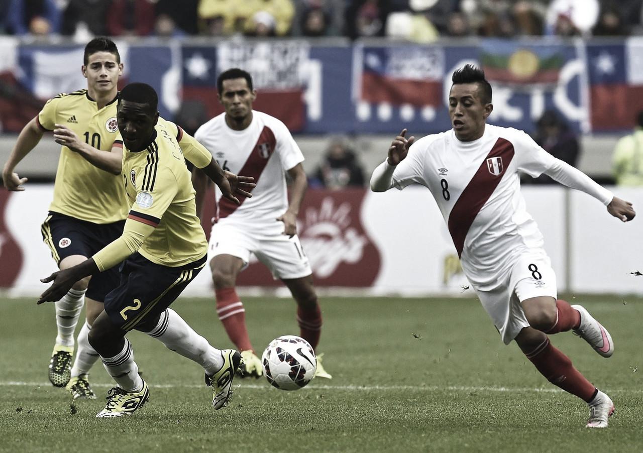 Colombia vs Perú: Es normal que empaten en fase de grupos