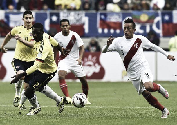 Colombia - Perú: un adelanto rumbo a las eliminatorias