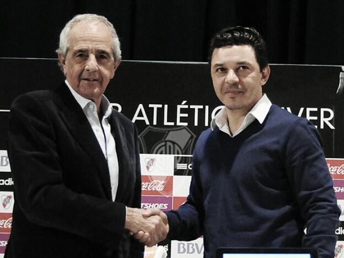 """D'Onofrio: """"En River tenemos un proyecto con Gallardo cómo técnico"""""""