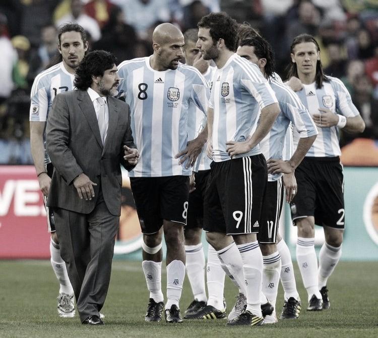 Mundial 2010: de mayor a menor y se quedó en cuartos de final
