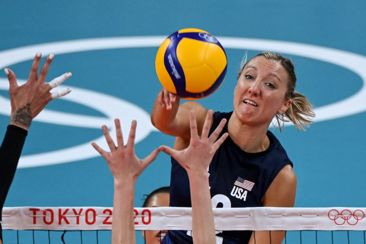 Highlights: USA vs COR at the Tokyo 2020 Olympic Games women's volleyball (0-3)