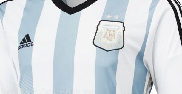 Evolución de las camisetas de la Selección Argentina