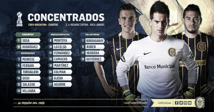 Ya están los que viajan a Córdoba por Copa Argentina