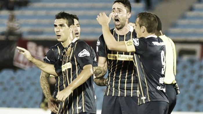 River (Uruguay) 1 - 3 Rosario Central: una victoria que encamina al Canaya