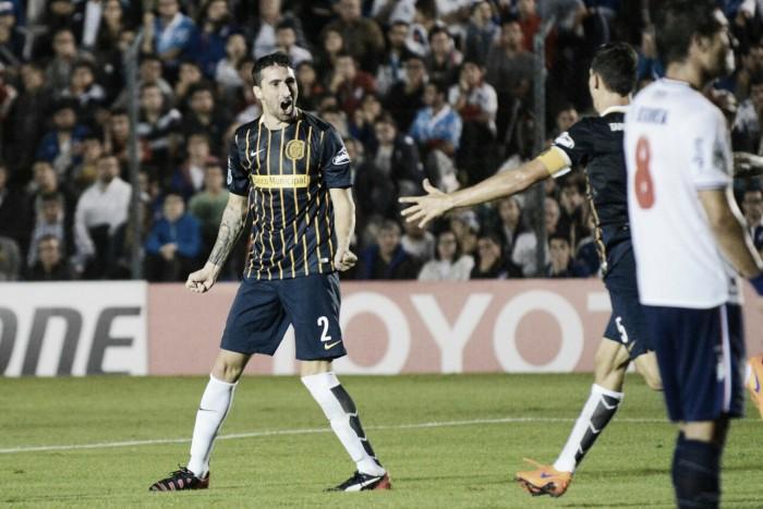 Nacional (Uru) 0-2 Rosario Central. Puntajes del 'Canaya'