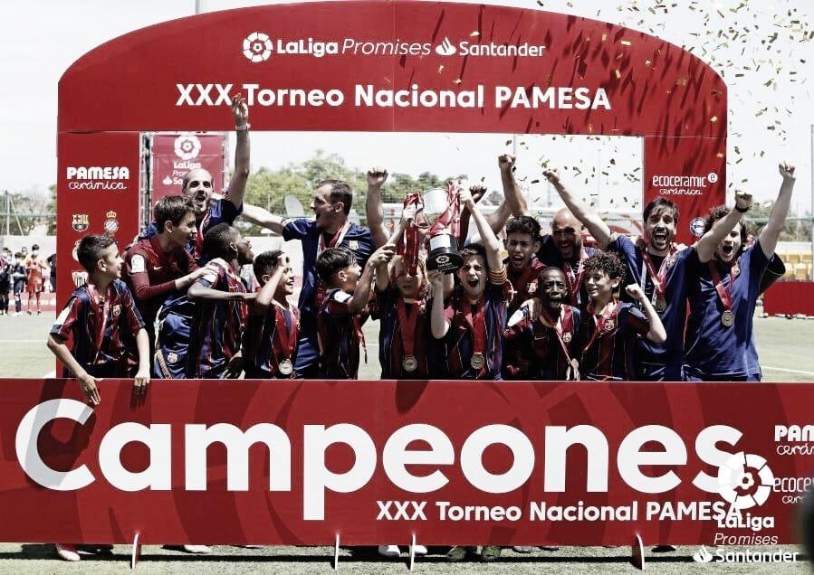 El Alevín del Barça se lleva LaLiga Promises firmando unos números pletóricos