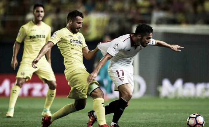 Villarreal e Sevilla fazem jogo equilibrado e empatam sem gols no El Madrigal