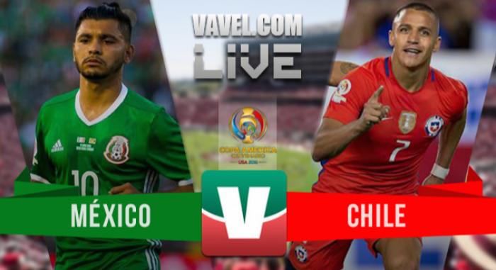 Chile golea a México y logra su pase a semifinal de Copa América