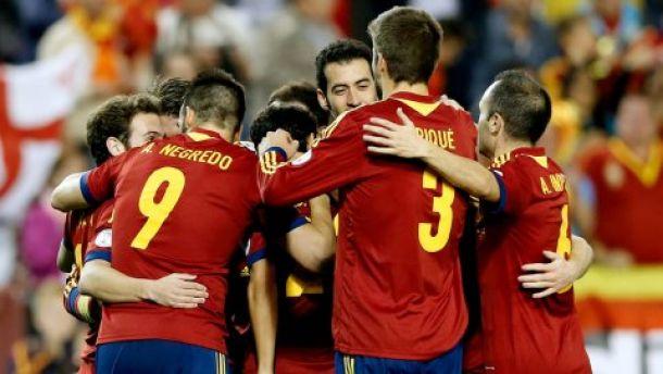 Live Spagna - Ucraina,  diretta qualificazioni Euro 2016