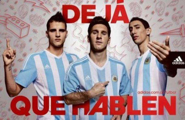 La nueva camiseta de Argentina