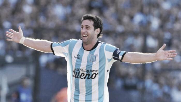 "Milito: ""Doy mi carrera para que Racing gane la Libertadores"""