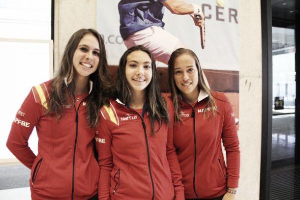 Las españolas acaban sextas en la Fed Cup Junior