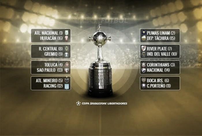 Se definieron los cruces de 8vos de final de la Copa Libertadores