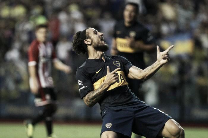 Último enfrentamiento entre Boca y Estudiantes
