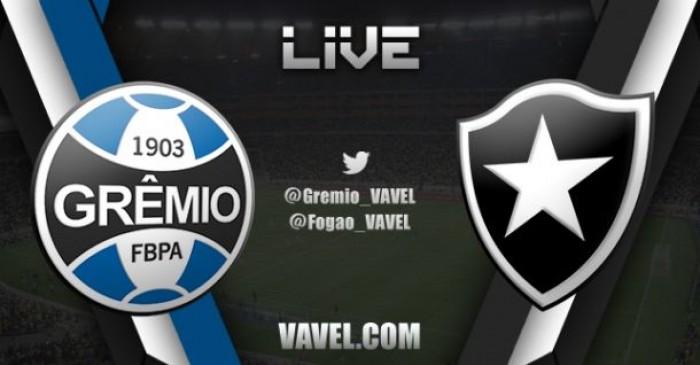 a5caa59cb2 Resultado do jogo Grêmio x Botafogo no Campeonato Brasileiro (0-1 ...