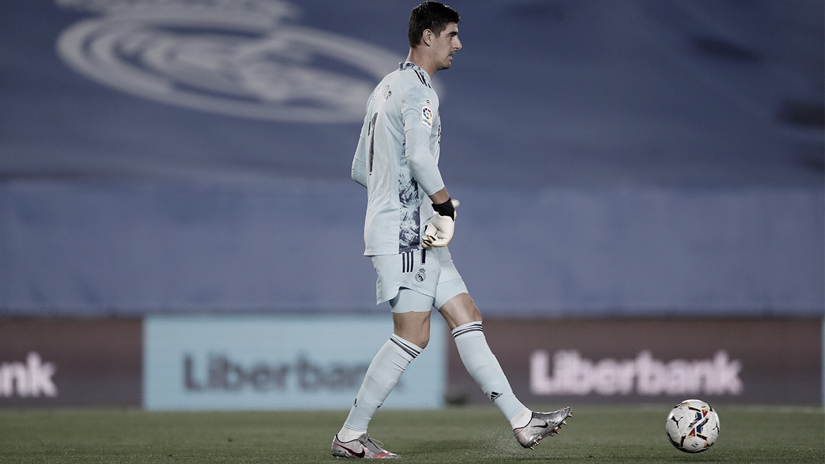 Thibaut Courtois, MVP del Real Madrid vs. Real Valladolid