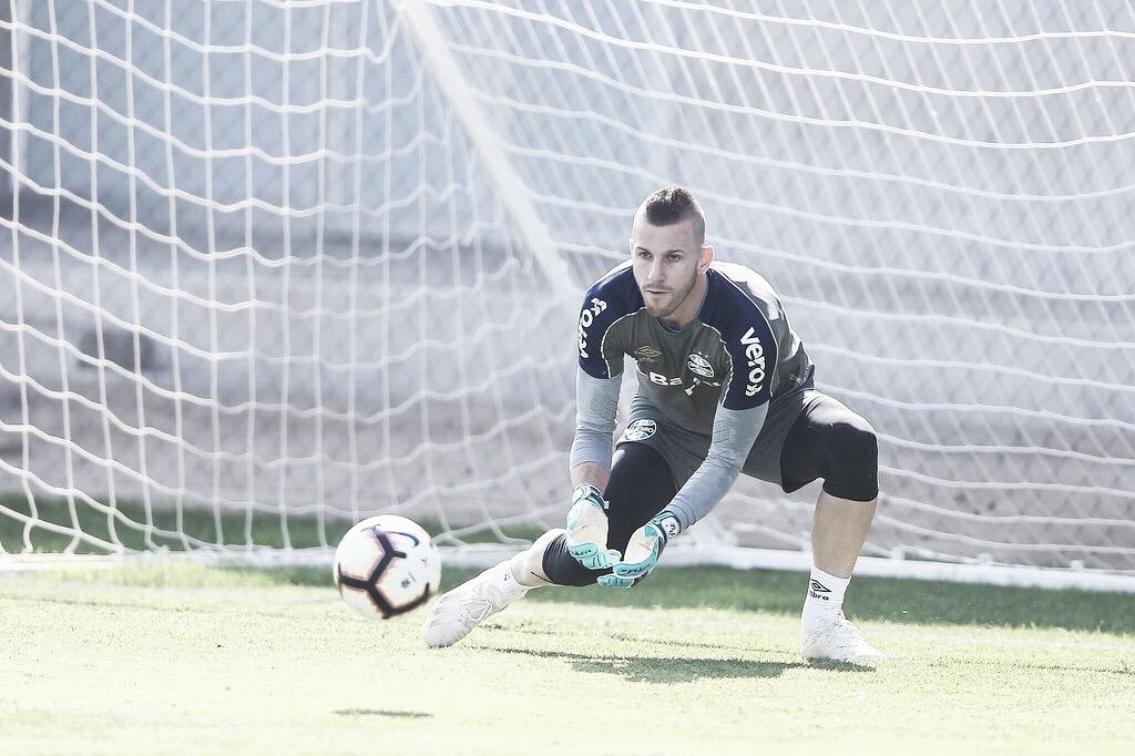 """Paulo Victor comenta missão de substituir Grohe após Gre-Nal pela final do Gaúcho: """"É difícil"""""""