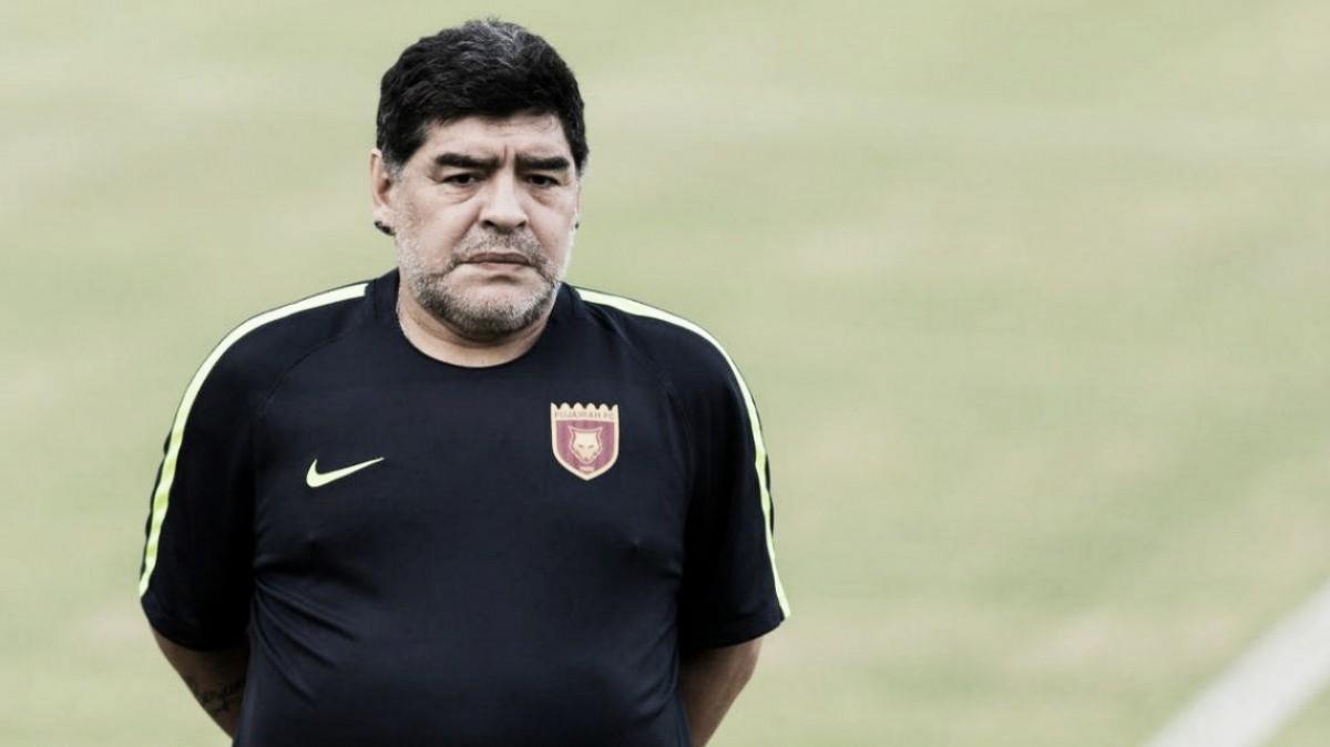 """Diego Maradona: """"El problema no son los jugadores"""""""