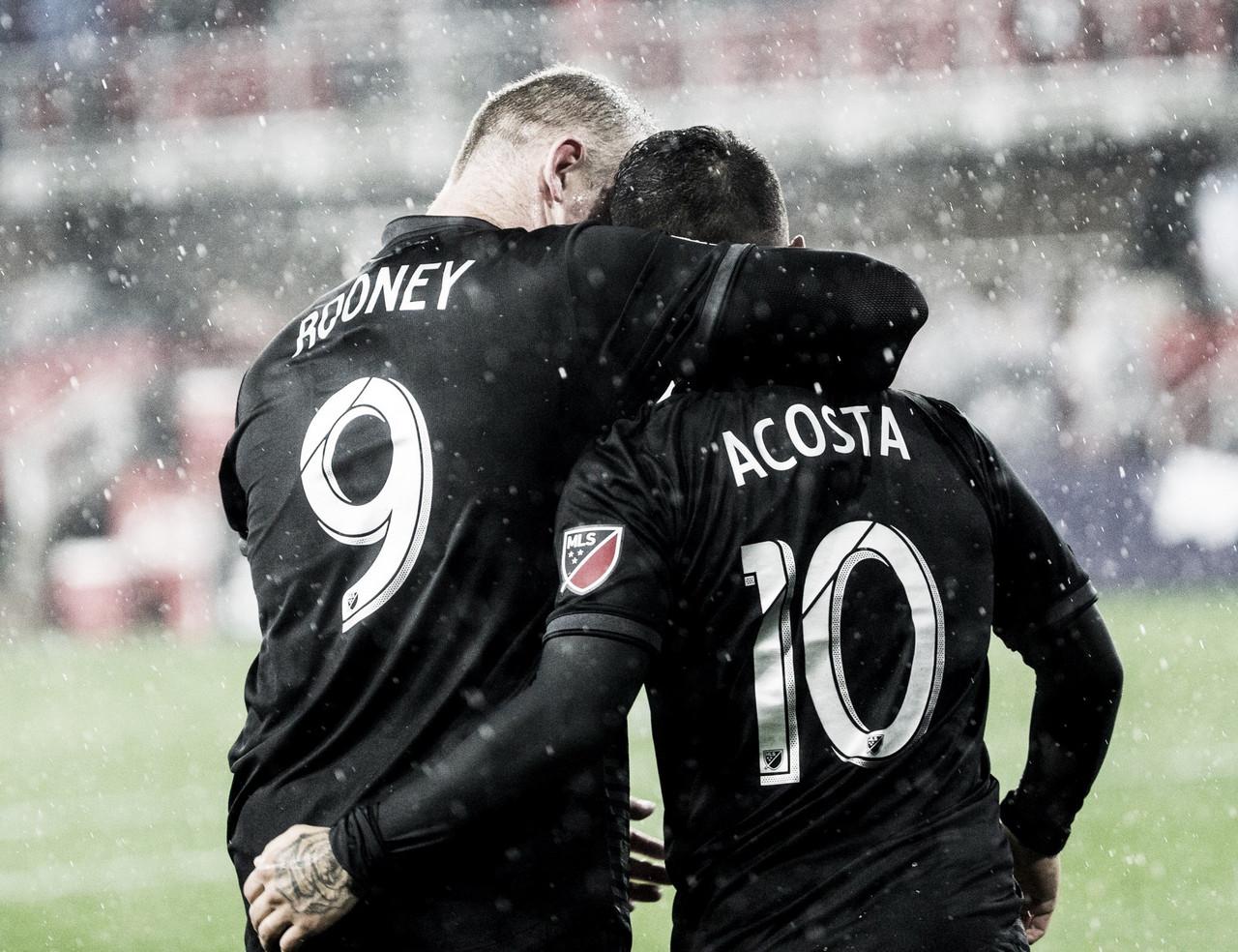 Lluvia de juego y goles en Washington