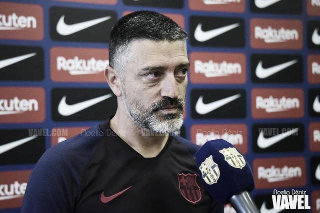 """García Pimienta: """"Estamos acostumbrados a afrontar los mayores retos"""""""