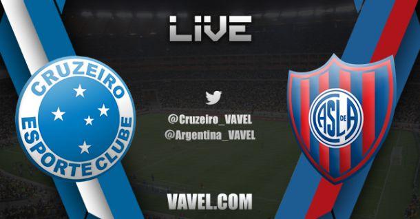 Cruzeiro x San Lorenzo, Copa Libertadores 2014  e