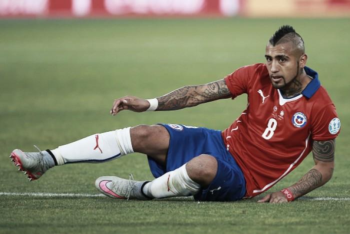 """Vidal mostra empolgação após vitória sobre Panamá: """"Vamos voltar a ser como antes"""""""