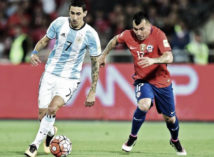 Di María e Banega decidem e Argentina bate Chile na Copa América Centenário