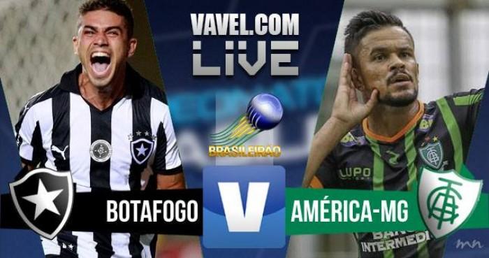 Resultado:Botafogo x América MG pelo Campeonato Brasileiro 2016 (3-1)