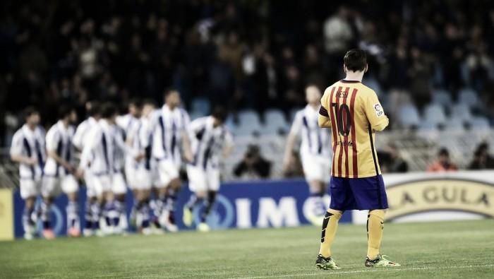 Los precedentes Real Sociedad – FC Barcelona: el calvario de Anoeta