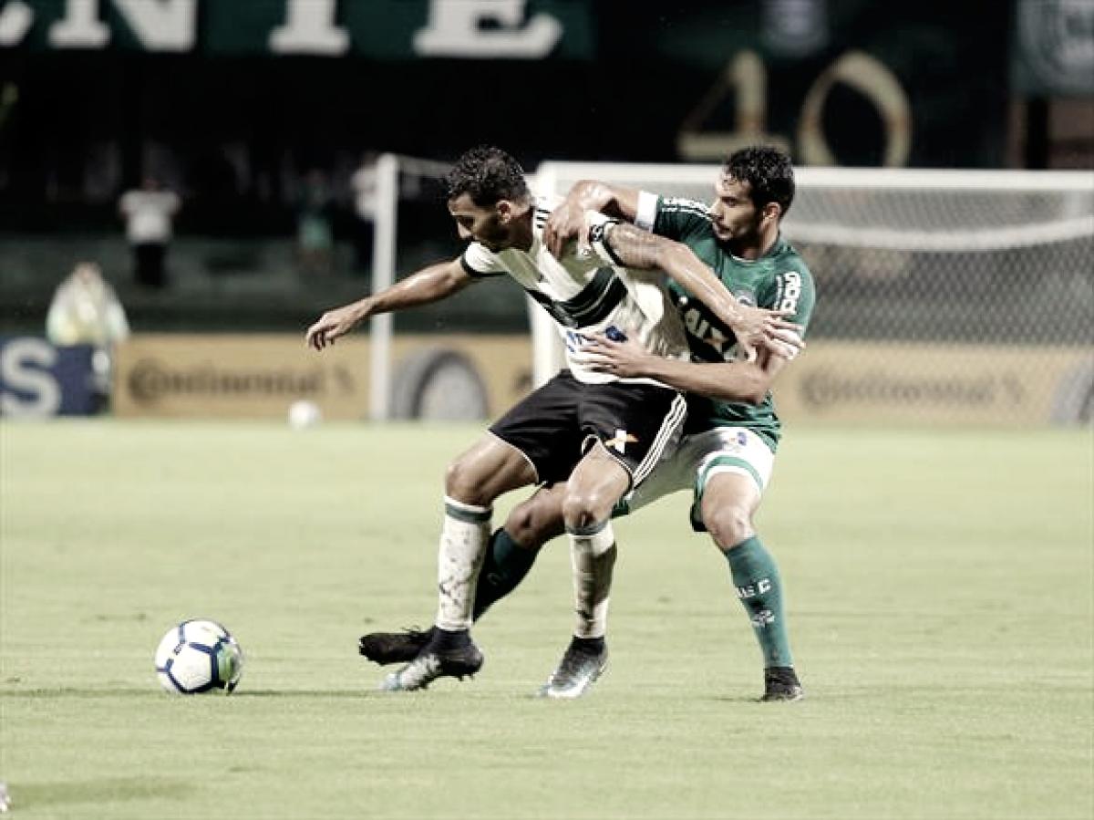 No Couto Pereira, Coritiba só empata com Goiás e está fora da Copa do Brasil