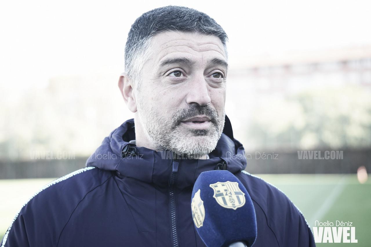 """García Pimienta: """"Quedan muy pocas jornadas y es un partido vital"""""""