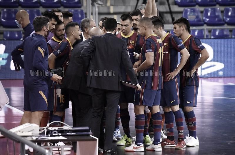 El Barça en el Palau. Foto: Noelia Déniz, VAVEL