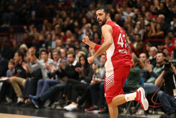 Lega Basket, Milano espugna Trento e conserva l'imbattibilità (74-92)