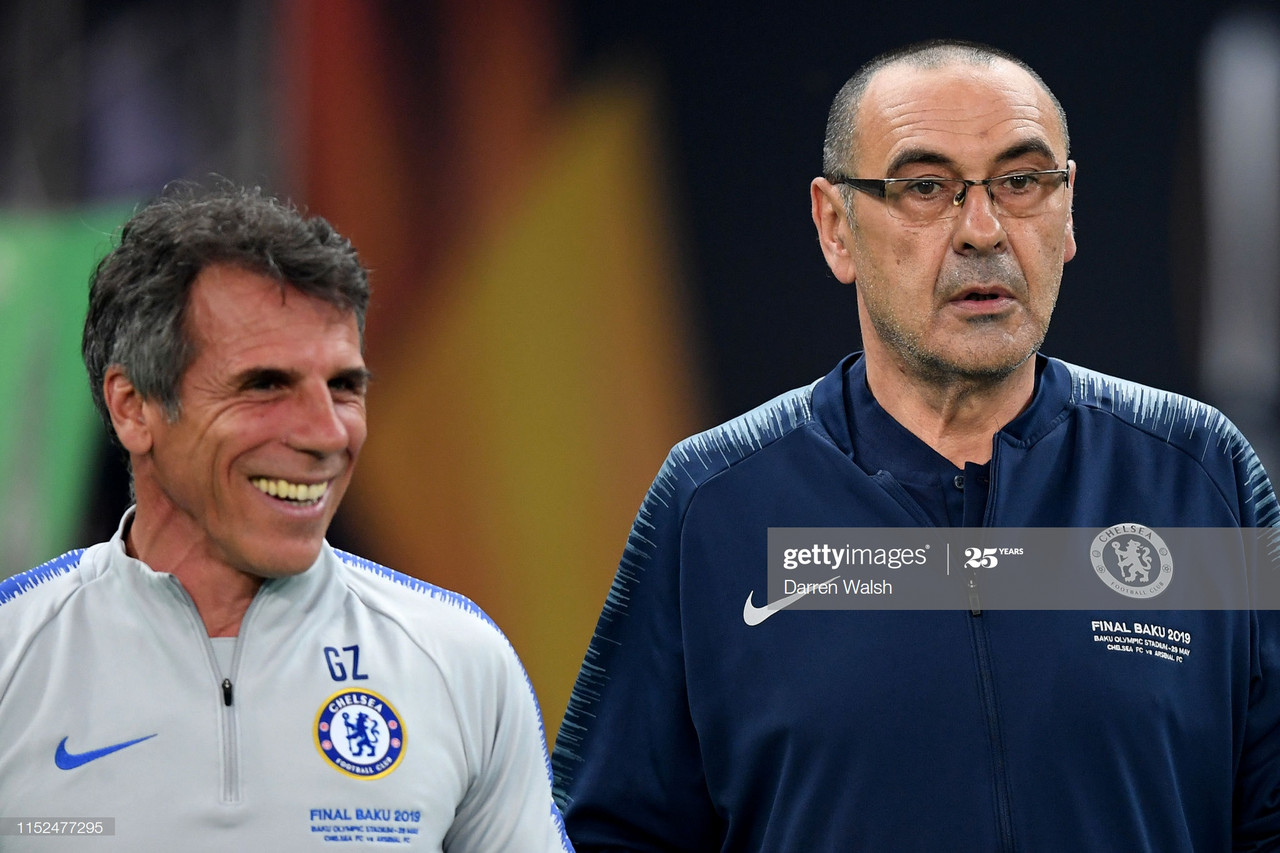 "Zola: Chelsea players got ""bored"" under Maurizio Sarri"