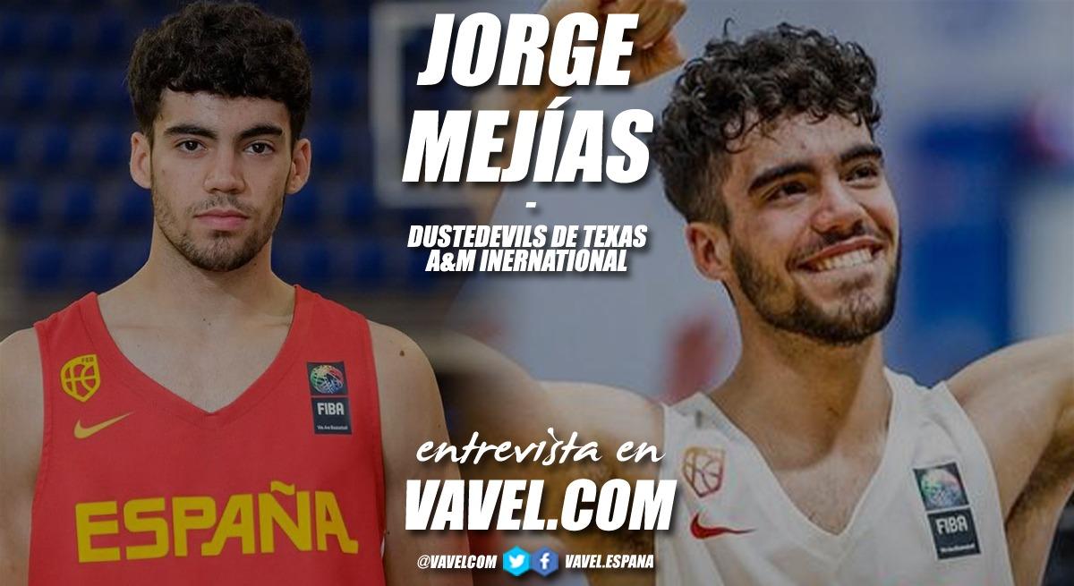 """Entrevista. Jorge Mejías: """"Mi objetivo es obtener un título universitario y ser jugador profesional de baloncesto"""""""